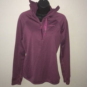 Small Patagonia Athletic pullover hooded half zip